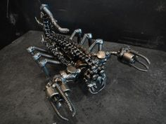 Amazing recycled metal arts