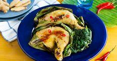 Creamy Insta-Feel Good Chicken Inasal Chicken Inasal Recipe, Creamy Chicken, Grilled Chicken, Feel Good, Turkey, Dishes, Recipes, Food, Cream Chicken