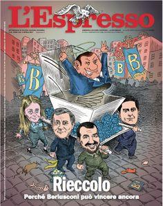 La copertina dell'Espresso in edicola da domenica 9 aprile