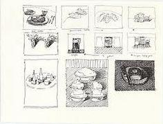 Wayne Thiebaud thumbnails sketches - Google Search