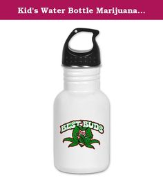Kid's Water Bottle Marijuana Best Buds. Product Number: 0001-1612357532 Perfect for school lunches or soccer games, our kid's stainless steel water bottle quenches children's thirst for individuality. Personalized for what kids love, it's both eco-friendly and compact. Made of 18/8, food-grade stainless steel. * No lining & no BPA or other toxins * Wide mouth for easy drinking * Durable, BPA-free & phalate-free screw-on top * Holds 0.35L (nearly 12 ounces) * Thin profile to fit most cup...