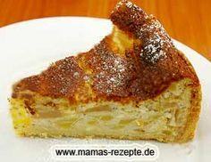 Kleiner Apfel - Quarkkuchen | Mamas Rezepte - mit Bild und Kalorienangaben