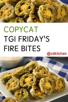 Copy this hot and spicy snack from TGI Friday's at home! Jalapeno slices are deep fried with a crispy coating. Eat them plain or serve with a dipping sauce. Pastas Recipes, Cooking Recipes, Cooking Stuff, Fun Recipes, Cooking Tools, Isagenix, Mexican Food Recipes, Italian Recipes, Fried Jalapenos