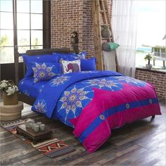 Bohemia 4 /3PCS3d Bedding Sets Sham Boho Mandala Duvet Cover Set Winter  Bedsheet Queen King