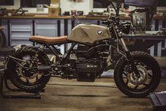 BMW K100 Street Tracker 'Sir Ulrich' – NCT Motorcycles #motorcycles #streettracker #motos | caferacerpasion.com