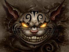 Risultati immagini per cheshire cat american mcgee's alice tattoo