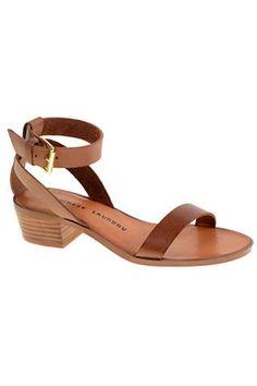 Chinese Laundry Tahiti Leather Sandals, $79.95; chineselaundry.com   - ELLE.com