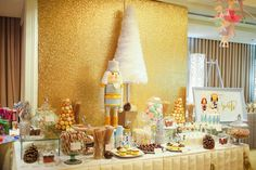 Sweet Table from a Nutcracker Inspired Birthday Party via Kara's Party Ideas | KarasPartyIdeas.com (26)