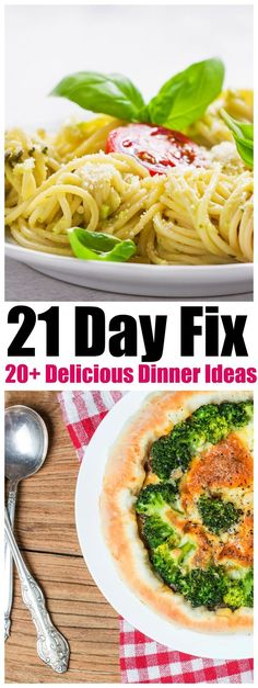 21 Day Fix Delicious Dinner Ideas,New meals to add to your 21 Day Fix meal plan, you will find over 20 types of delicious dinners 21 Day Fix approved!