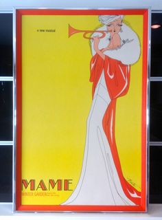 Rare 1966 Original Mame Broadway Musical by MCMmidwestdesigns