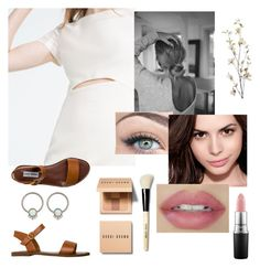 """Lena"" by maddy-bd on Polyvore featuring Zara, Steve Madden, Bobbi Brown Cosmetics, Maybelline, Pier 1 Imports and MAC Cosmetics"