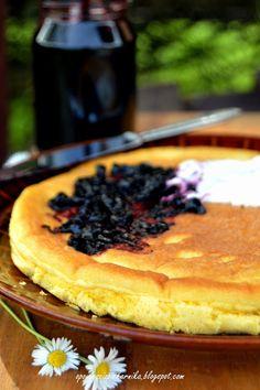 Opowieści z piekarnika: Puszysty omlet na słodko Pancakes, Pie, Cooking, Breakfast, Fitness, Desserts, Food, Kitchen, Haha