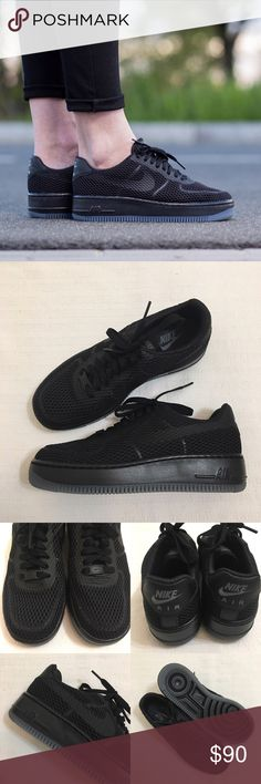 Women's Nike Air Force 1 Low Upset Breathe Shoes Women's Nike Air Force 1 Low Upset Black Breathe Sneakers Shoes Style/Color: 833123-001 * Women's size 8 * NEW in box (no lid) * No trades * 100% authentic Nike Shoes Sneakers