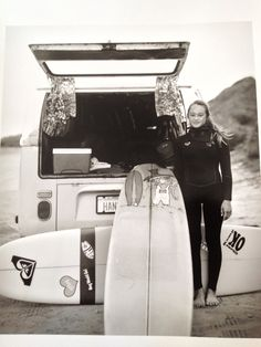 Get inspired to surf everyday like team rider Meg Roh has for the past 2 years! #ISD