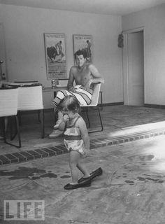 Dean Martin + Daughter
