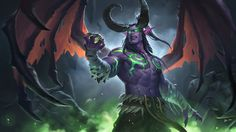 Illidan Stormrage  伊利丹·怒风(2009-2017), 木讷的王某 WHB on ArtStation at https://www.artstation.com/artwork/nbEKe