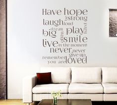 Have hope, be strong.. Design 2