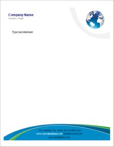 ms word letterheads