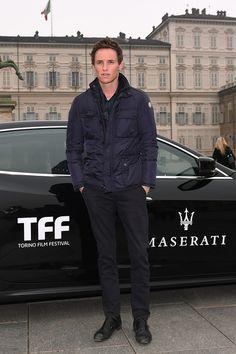 Eddie Redmayne - Maserati Arrivals at the 32th Turin Film Festival