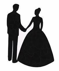 Free Clipart Of Bride And Groom