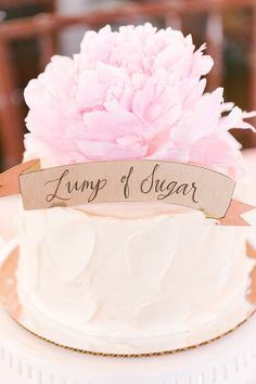 Lump of sugar: http://www.stylemepretty.com/ohio-weddings/columbus/2015/07/29/blush-coral-downtown-columbus-wedding/ | Photography: Leigh Elizabeth - http://www.leighelizabeth.com/