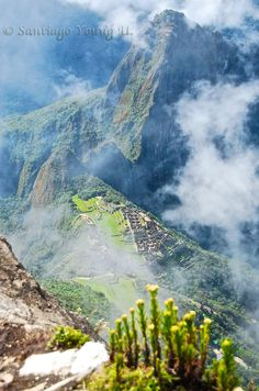 For YOU, the ones who loves Peru.....   View of Machupicchu Inka city & Waynapicchu all the way from the top.