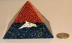 Orgone  orgonite medium Pyramid with by OrgoniteCreations on Etsy