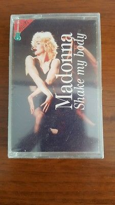 Madonna Shake My Body CASS Italy IC 9214 SEALED Unofficial Rebel Heart Prince