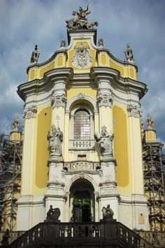 Church of St George, Lviv - Pray in this church.