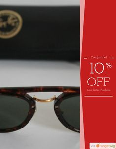 Get 10% OFF on select products. https://orangetwig.com/shops/AAA0zeW/campaigns/AABN8cs?cb=2015009&sn=RayBanVintageShop&ch=pin&crid=AABN8cO