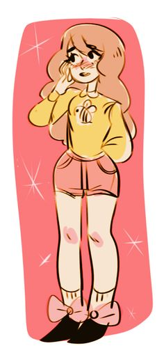 Bee and Puppycat fanart by Strovi on Tumblr