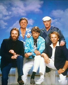 Beach Boys-the 80's years-hey-if it weren't for Kokomo-I never would have discovered my love for them and owned all of their albums by the age of 12!