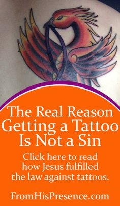 Why Getting a Tattoo Is Not a Sin by Jamie Rohrbaugh FromHisPresence Blog
