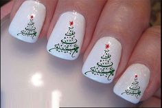Trendy Christmas Nail Art ideas and New Year's Eve Nail Art Designs | StylesGlamour.com