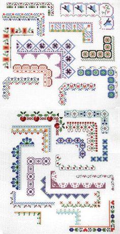 Counted Cross Stitch Design: Bountiful Borders