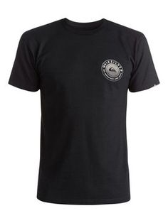 quiksilver, Check Me Out Tee, Anthracite (kvj0)