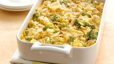 This classic chicken casserole is ready to eat in 20 minutes!