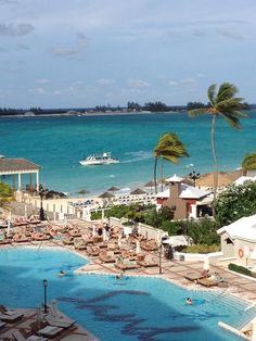 Sandals all-inclusive resort in Nassau Paradise Island, The Bahamas.