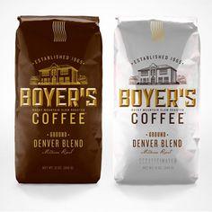 Boyer's Coffee :: designed by TDA_Boulder