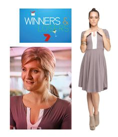 Winners & Losers, Episode 1, Season 2. Frances' first dress she wore was the LB Placket Front dress, love it!!!