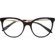 Victoria Beckham Classic Kitten cat-eye acetate and gold-tone optical... (5.126.050 IDR) ❤ liked on Polyvore featuring accessories, eyewear, eyeglasses, glasses, cateye eyeglasses, lens glasses, victoria beckham glasses, cat eye eyeglasses and acetate eyeglasses