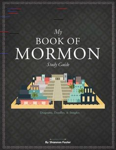 Book of Mormon Study Guide - Volume One (Spiral Bound Book) Book of Mormon Study Guide - Volume One (Spiral Bound Book) Book Of Mormon Quotes, Book Of Mormon Scriptures, Lds Books, Bible, Family Scripture, Scripture Study, Lds Baptism Program, Draw Diagram, Doctrine And Covenants