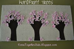 Want to make with our handprints......