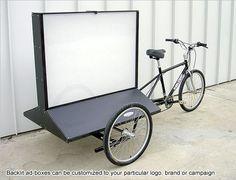 Main Street Pedicabs™ | The Billboard Bike™