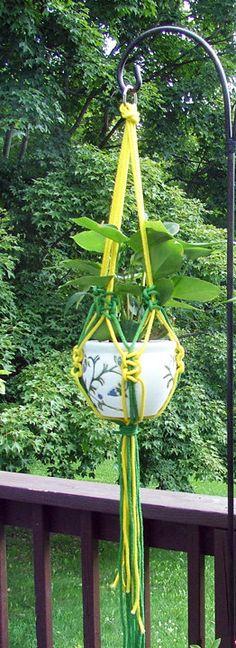 6 Balcony Plant Pot Hangers Hooks Rings Flower Pot