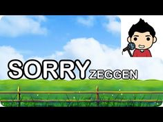 Sorry zeggen - meester Richard Social Skills, Compliments, Singing, Family Guy, The Unit, Songs, Education, Youtube, Onderwijs