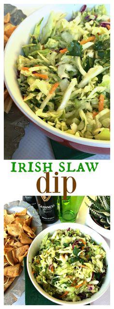Irish Slaw Dip for St. Patrick's Day