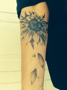lion sunflower tattoo - Google Search