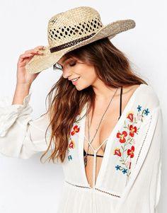 Sombrero de paja estilo oeste