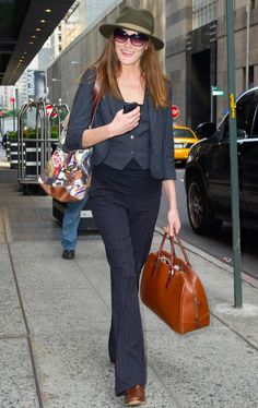 Rules of Style | Carla Bruni-Sarkozy on the Allure of the Pantsuit and the Importance of Staying Hydrated